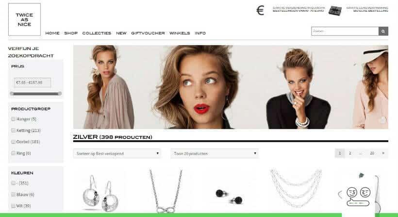 vernieuwde omnichannel webshop voor twice as nice