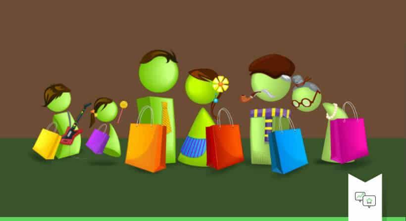 online klant in fysieke winkel retailer