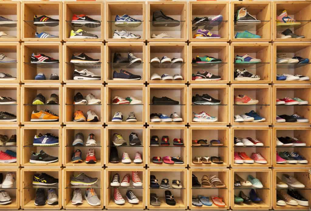 schoenenwinkel kassasysteem retail schoenenkast