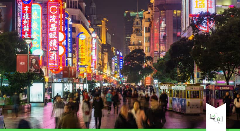 china gidsland voor nieuwe retail
