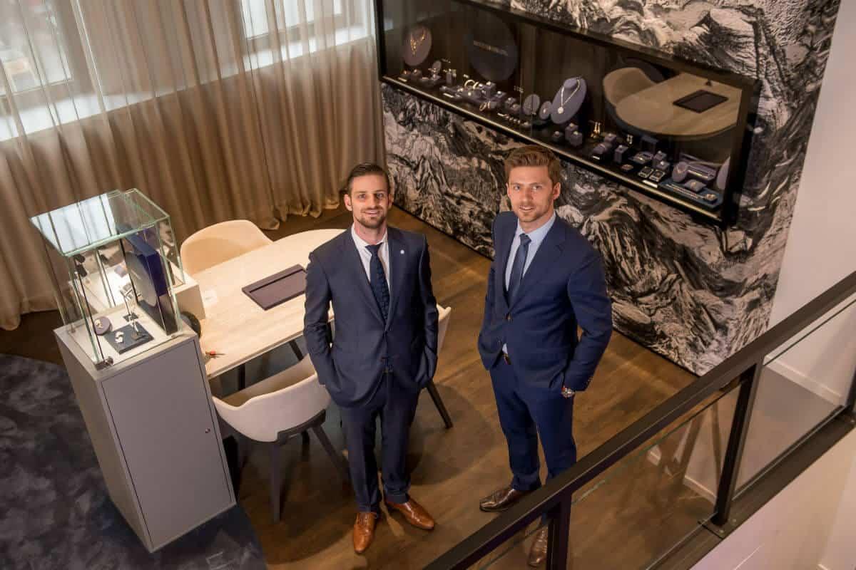 diva museaum shop: Stefan en Dennis high end juwelen