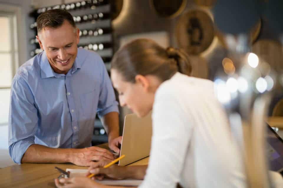 b2b webshop en ecommerce - groothandel commerce - agent bij klant