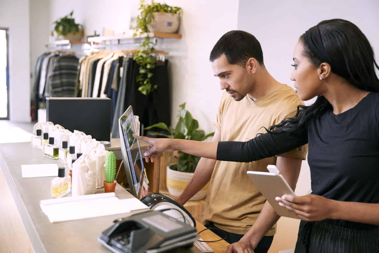 opleiding lkssasysteem in de winkel